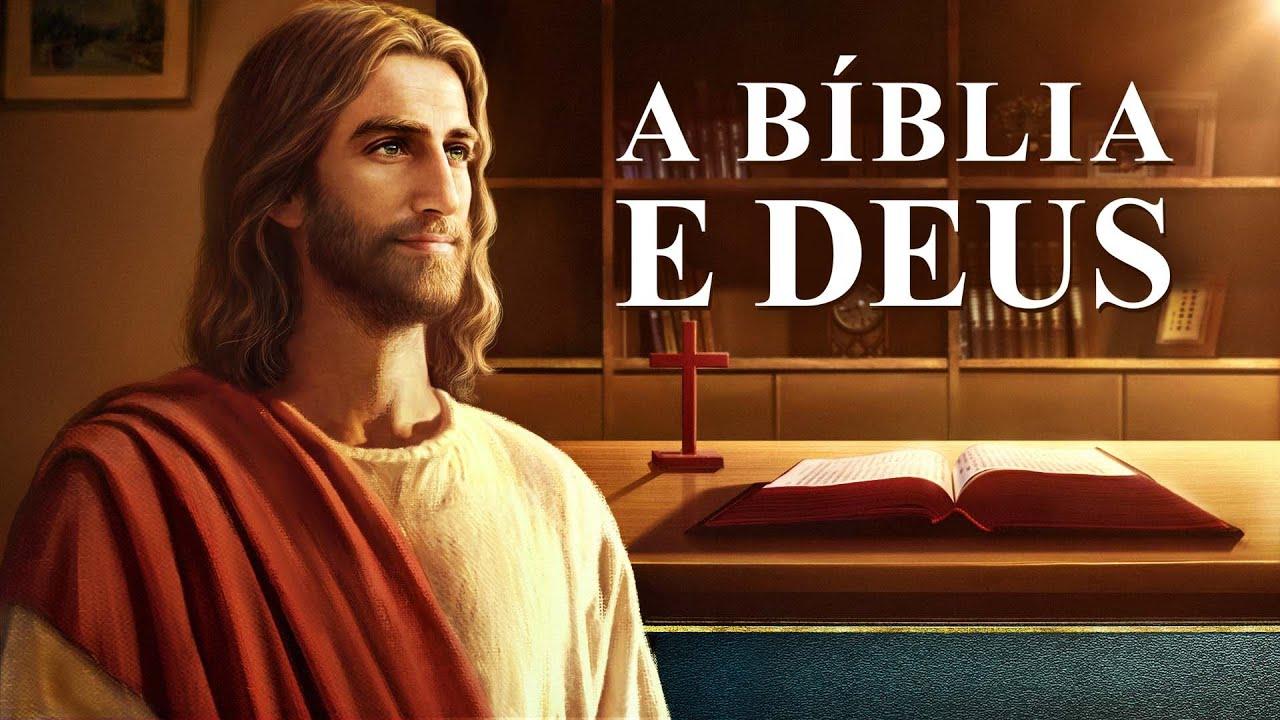 Cartaz do filme gospel - A Bíblia e Deus
