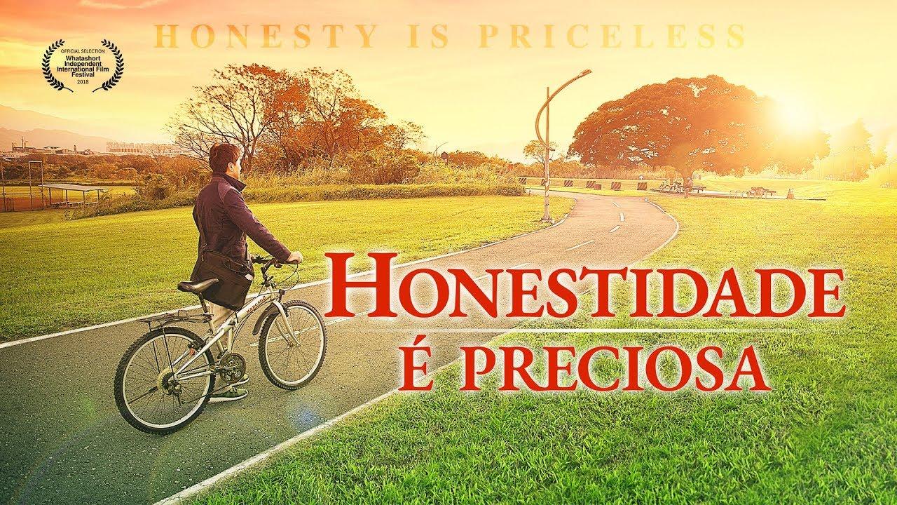 Cartaz do filme gospel - A honestidade é preciosa