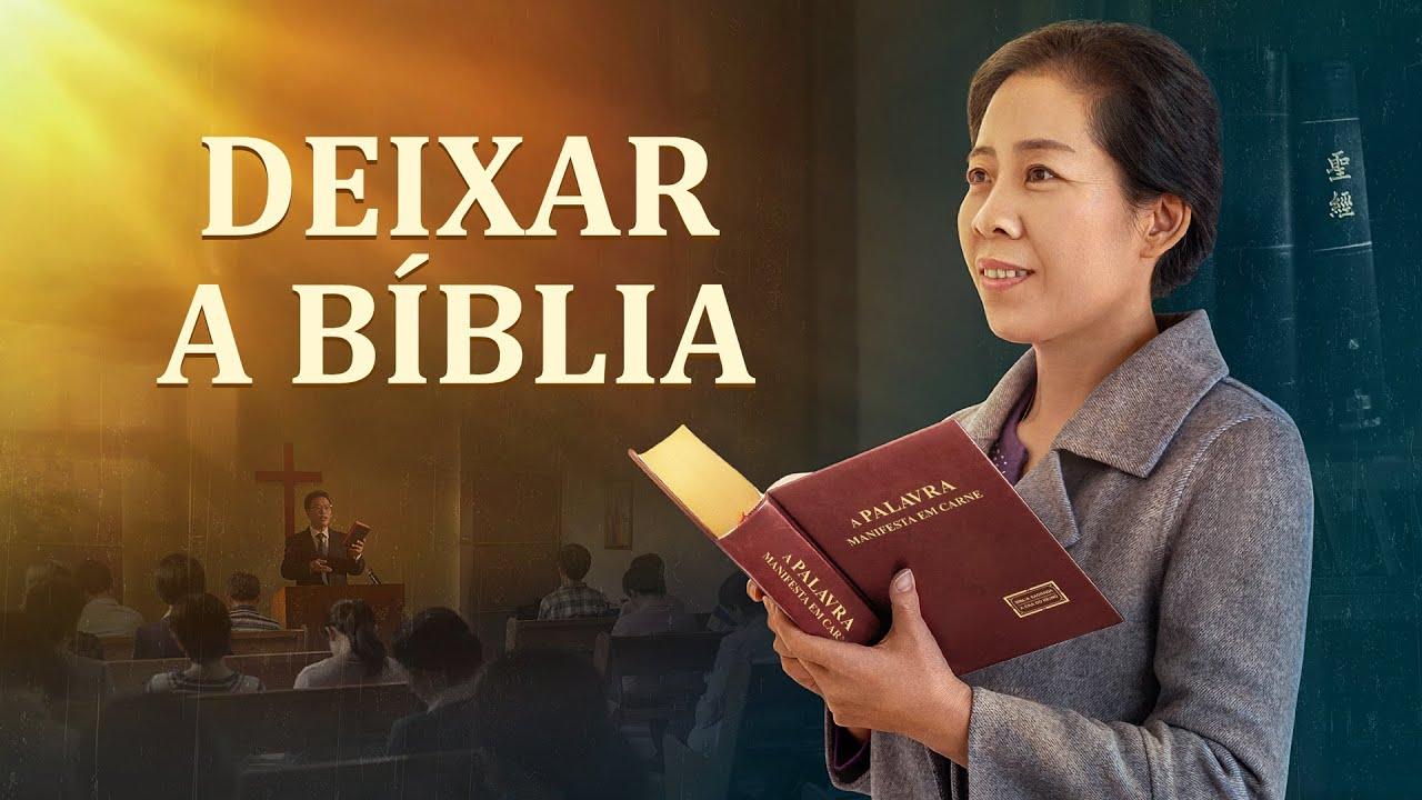 Cartaz do filme gospel - Deixar a Bíblia