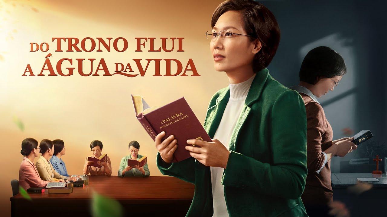 Cartaz do filme gospel - Do trono flui a água da vida