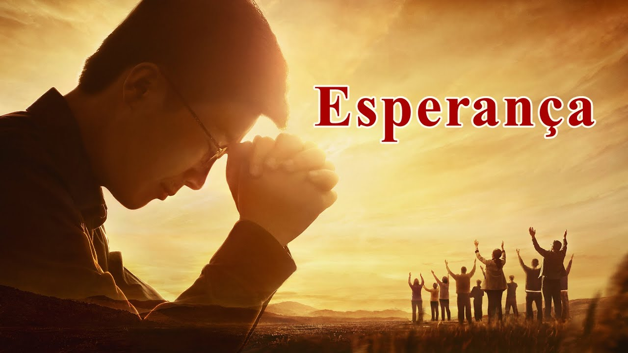 Cartaz do filme gospel - Esperança