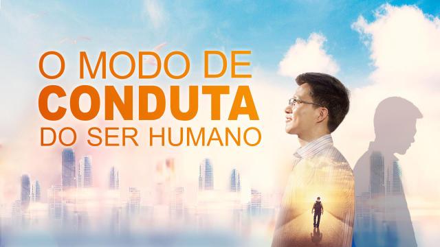 Cartaz do filme gospel - O modo de conduta do ser humano