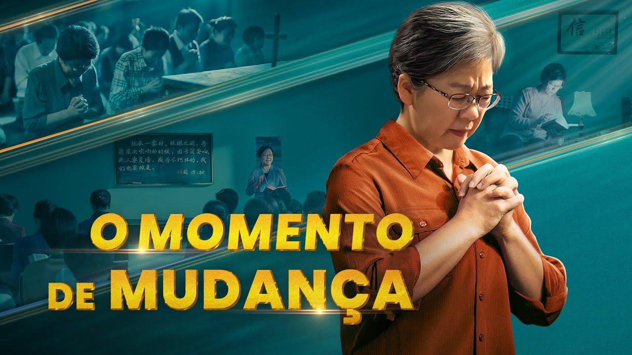 Cartaz do filme gospel - O momento de mudança