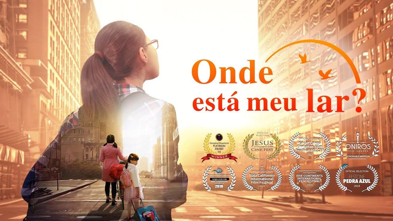 Cartaz do filme gospel - Onde está meu lar