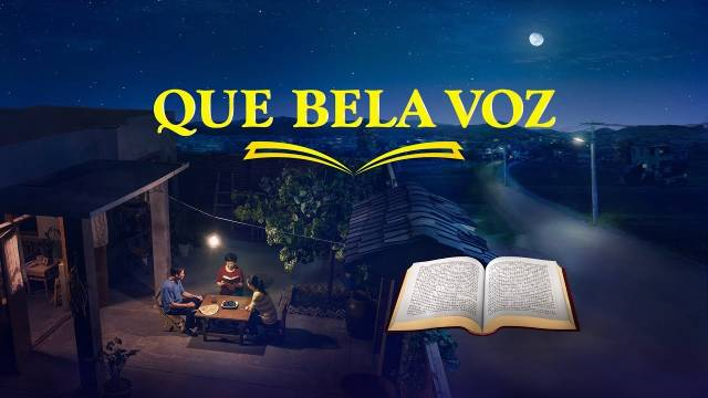 Cartaz do filme gospel - Que bela voz