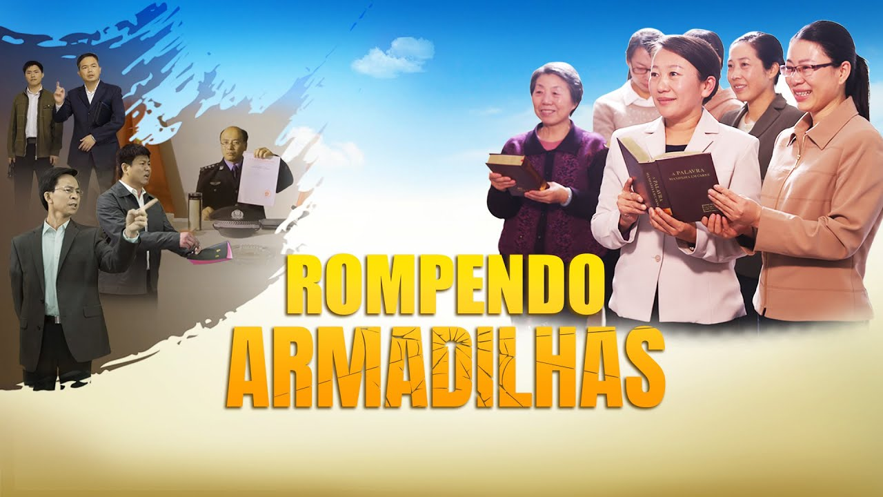 Cartaz do filme gospel - Rompendo armadilhas