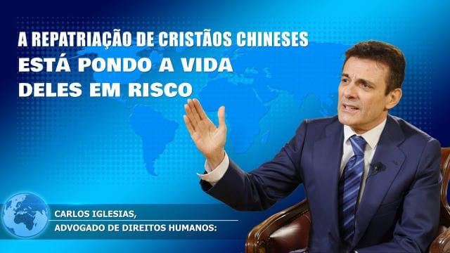 Notícias: Carlos Iglesias: A repatriação de cristãos chineses está pondo a vida deles em risco - Imagem