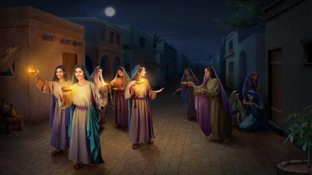 Cinco virgens inteligentes e cinco virgens ignorantes