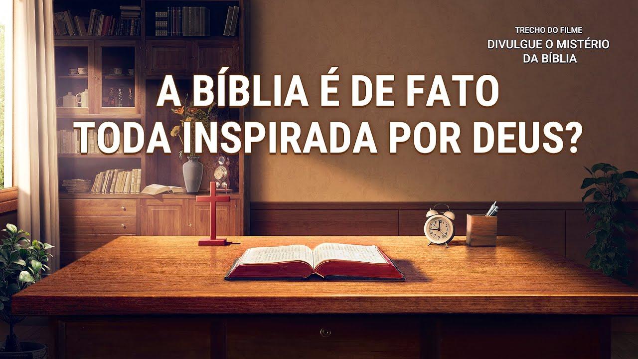 """Filme evangélico """"Divulgue o mistério da bíblia"""" Trecho 4"""