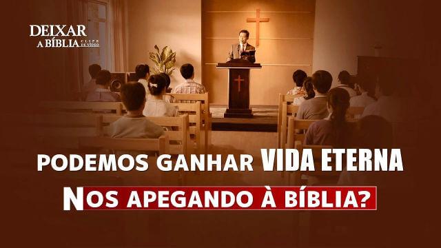 """Filme evangélico """"Deixar a Bíblia"""" Trecho 2"""