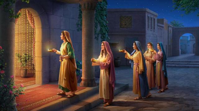As virgens sábias podem ouvir a voz de Deus e acolher o Senhor