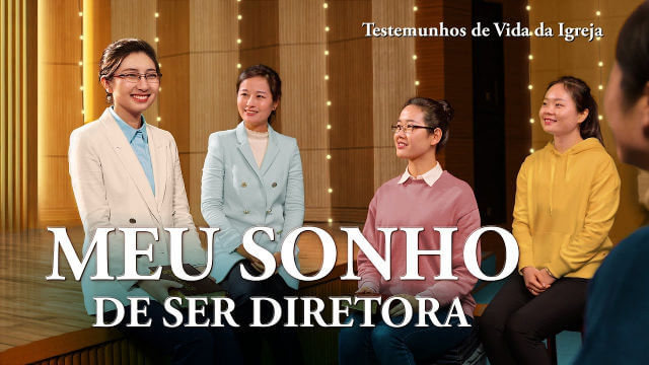 "Testemunho da Vida da Igreja ""Meu sonho de ser diretora"""