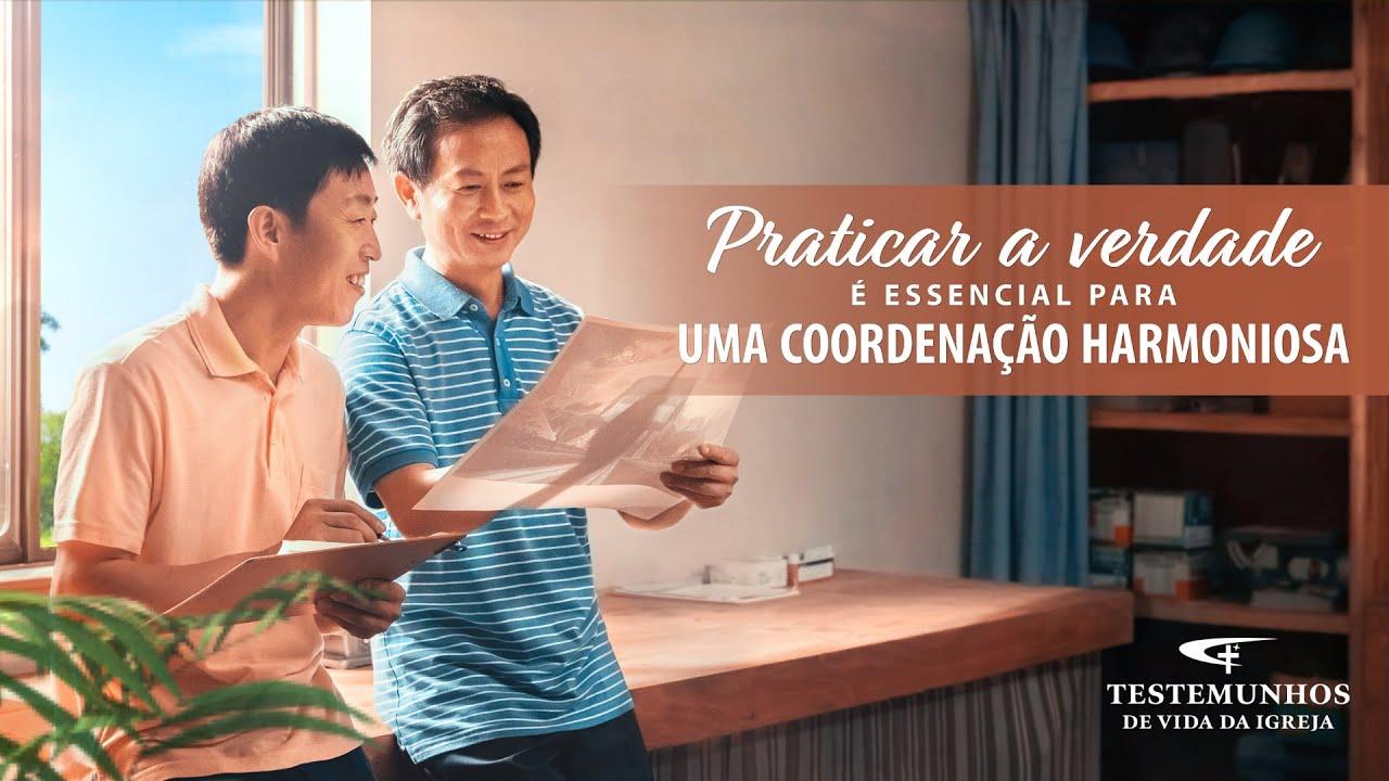 """Testemunho de fé """"Praticar a verdade é essencial para uma coordenação harmoniosa"""""""