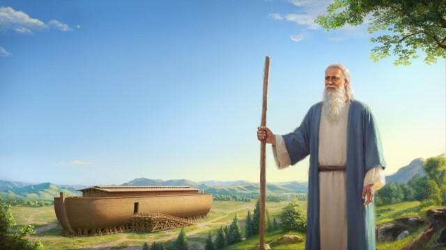 Deus pretende destruir o mundo com um dilúvio e instrui Noé a construir uma arca